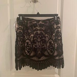 Lovers + Friends Lace Skirt